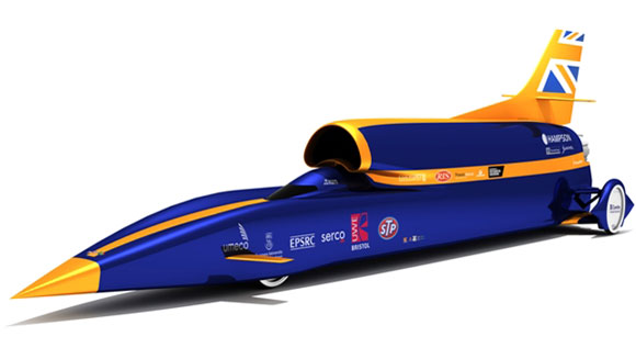 Bloodhound SSC team successfully test 1,000mph land speed car's rocket
