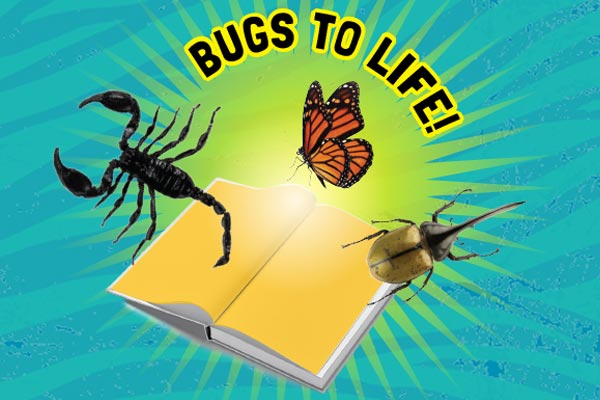 Promo image for Bugs to Life feature in Wild Things