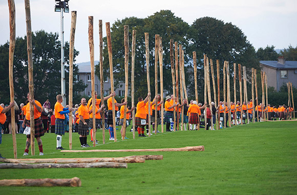 Scottish history made: Caber tossing world record set in Inverness