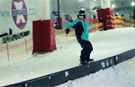 Video: UK teenager sets new snowboarding rail grind record