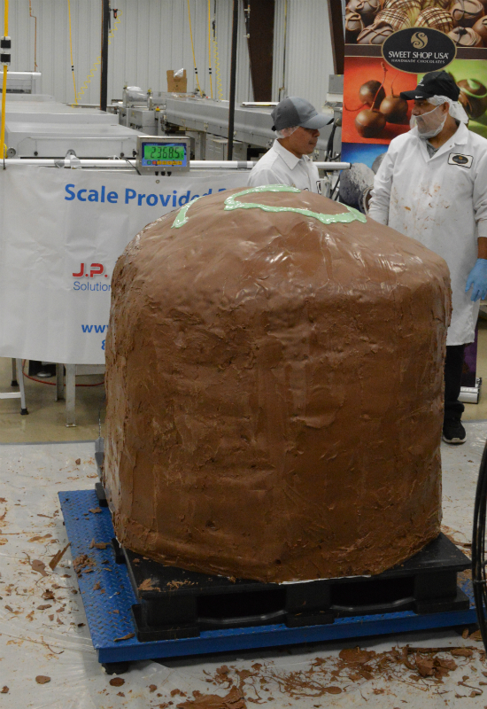 Largest chocolate truffle 4