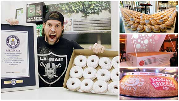 National Doughnut Day: Seven of the treat's sweetest records