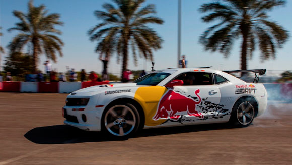 Video: Abdo Feghali skids his way to longest vehicle drift record