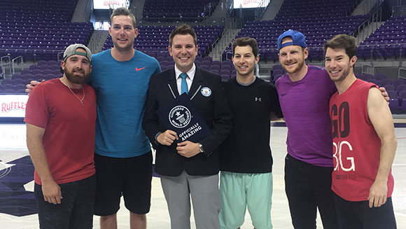 Video: Watch YouTube trick shot stars Dude Perfect smash 11 new world records
