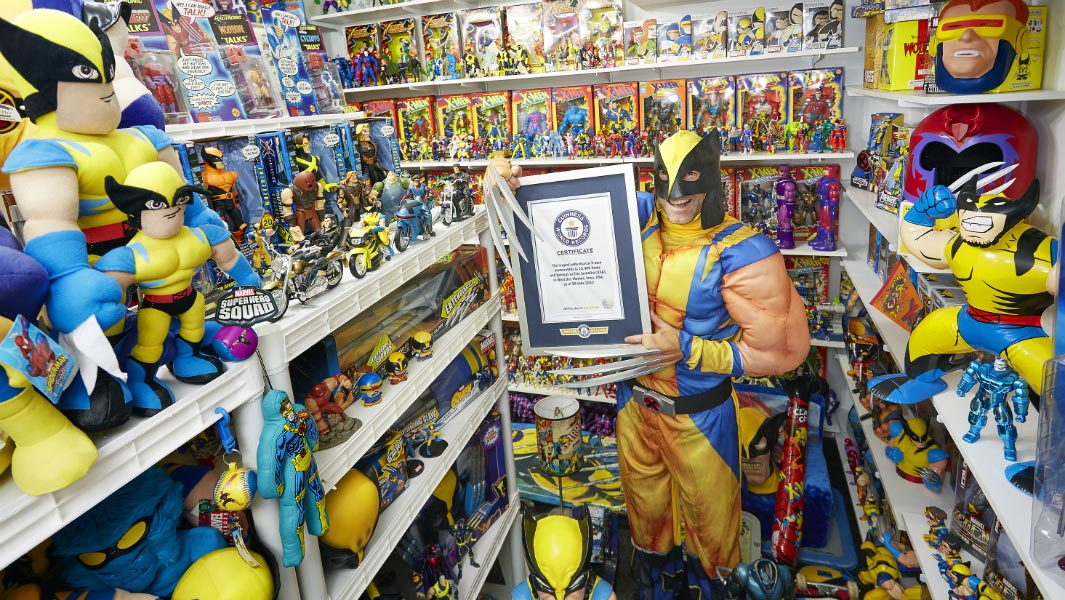 Largest collection of X-Men memorabilia is absolutely enormous