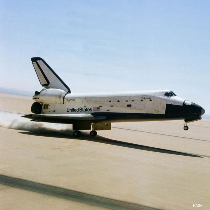First reusable spacecraft