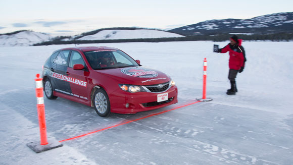 Fulda Kristall Control HP tires notch up icy motoring world records