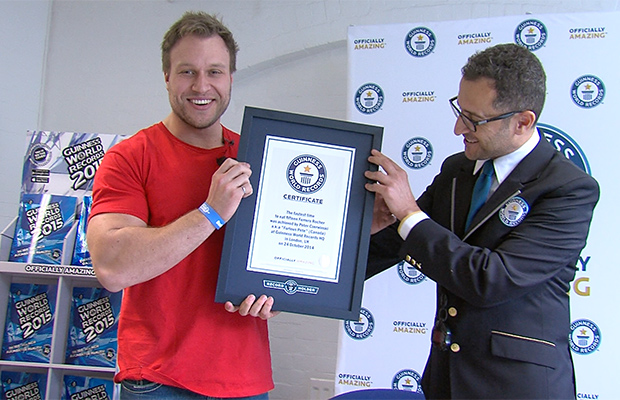Furious-Pete-certificate-presentation-london