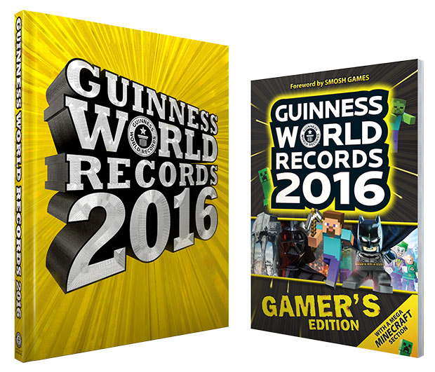 2016 Guinness World Records Books