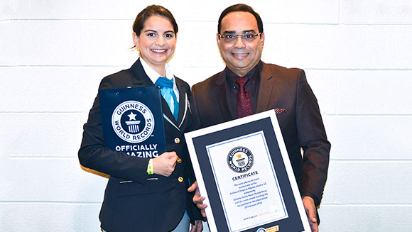 Grammy award-winning singer Gilberto Santa Rosa honored with Guinness Worlds Records title