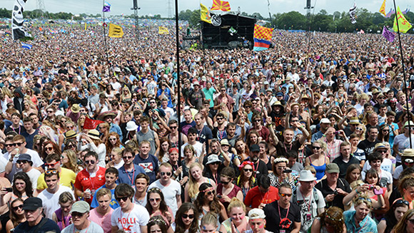 From The Rolling Stones to Arctic Monkeys - Glastonbury 2013 in world records