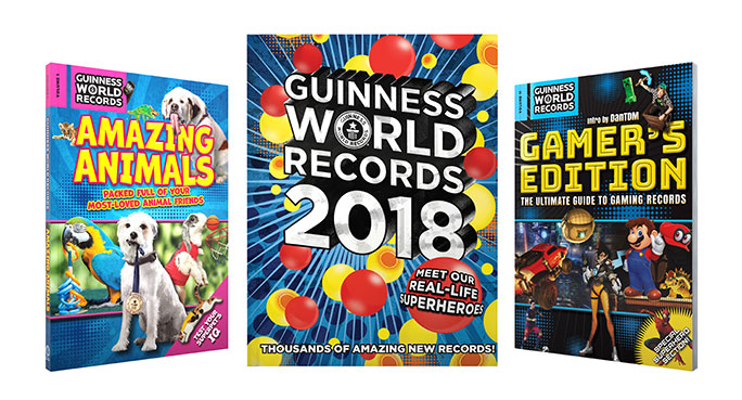 The Guinness World Records collection is in stores now