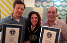 Jamie Oliver and Gennaro Contaldo cook up Guinness World Records double for new YouTube channel launch