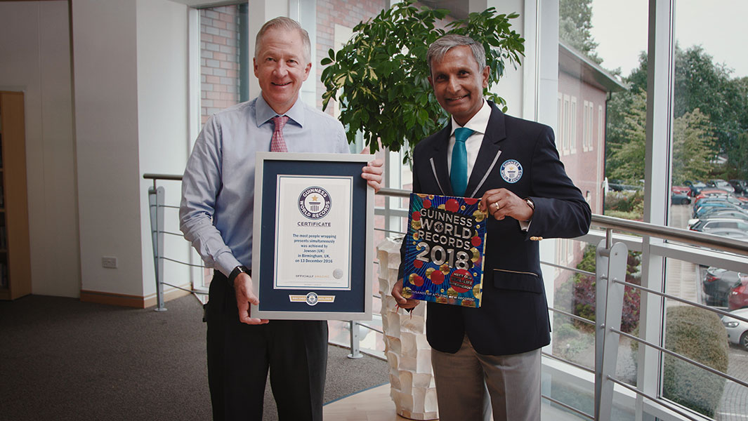 Jewson cements its place in history with Guinness World Records attempt