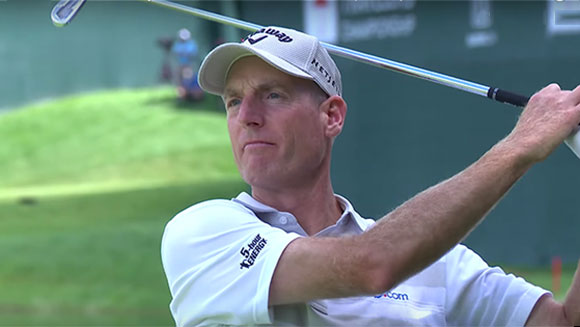 Jim Furyk makes PGA Tour history by shooting 58 at Travelers Championship
