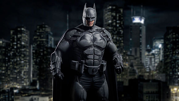 Batman suit boasting 23 gadgets earns Guinness World Record