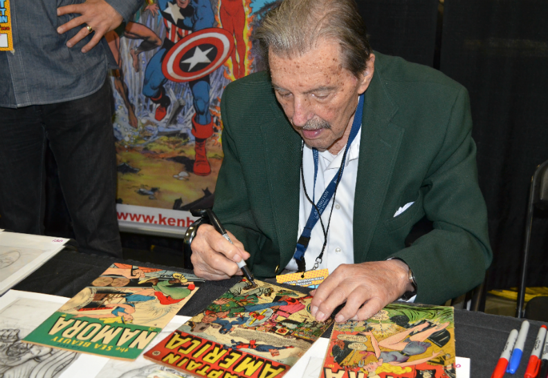 Oldest Comic Book Artist 9