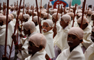 Video: Mahatma Gandhi lookalikes set new world record in India