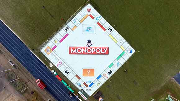 Dutch university students create super-sized Monopoly board to set new world record