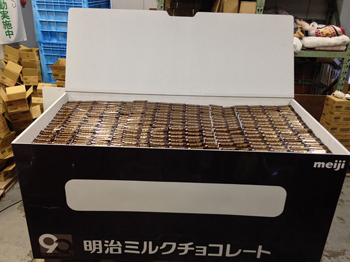 Largest box of chocolate bars
