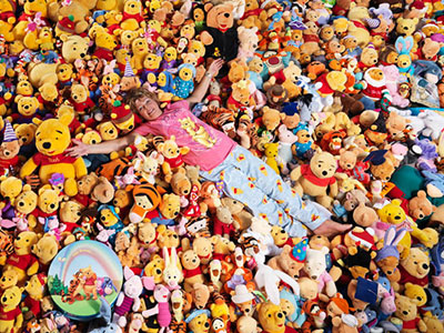 Largest collection of Winnie the Pooh memorabilia