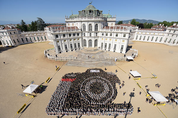 Largest human image of a camera