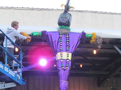 Largest voodoo doll