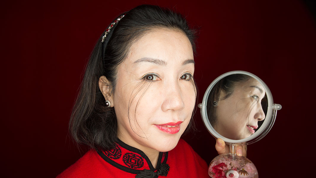 In pictures: Chinese lady has world's longest eyelashes