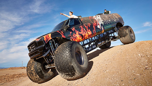 Video: 9.8 metre-long monster truck storms into Guinness World Records 2017 book