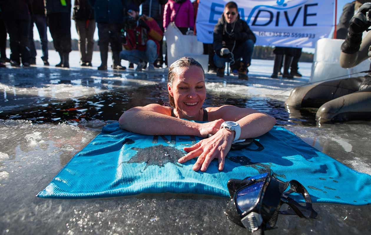 Guinness nude swim in albuquerque