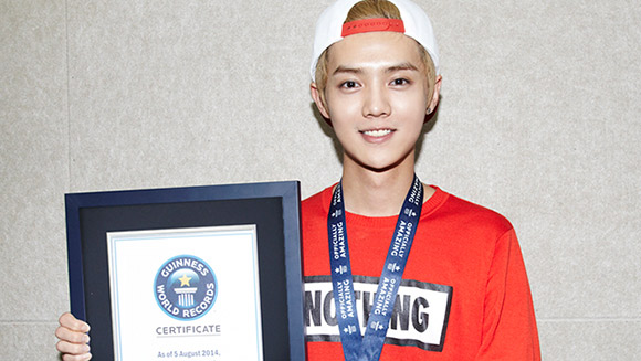 Asian star LUHAN sets the record for most comments on a Weibo post