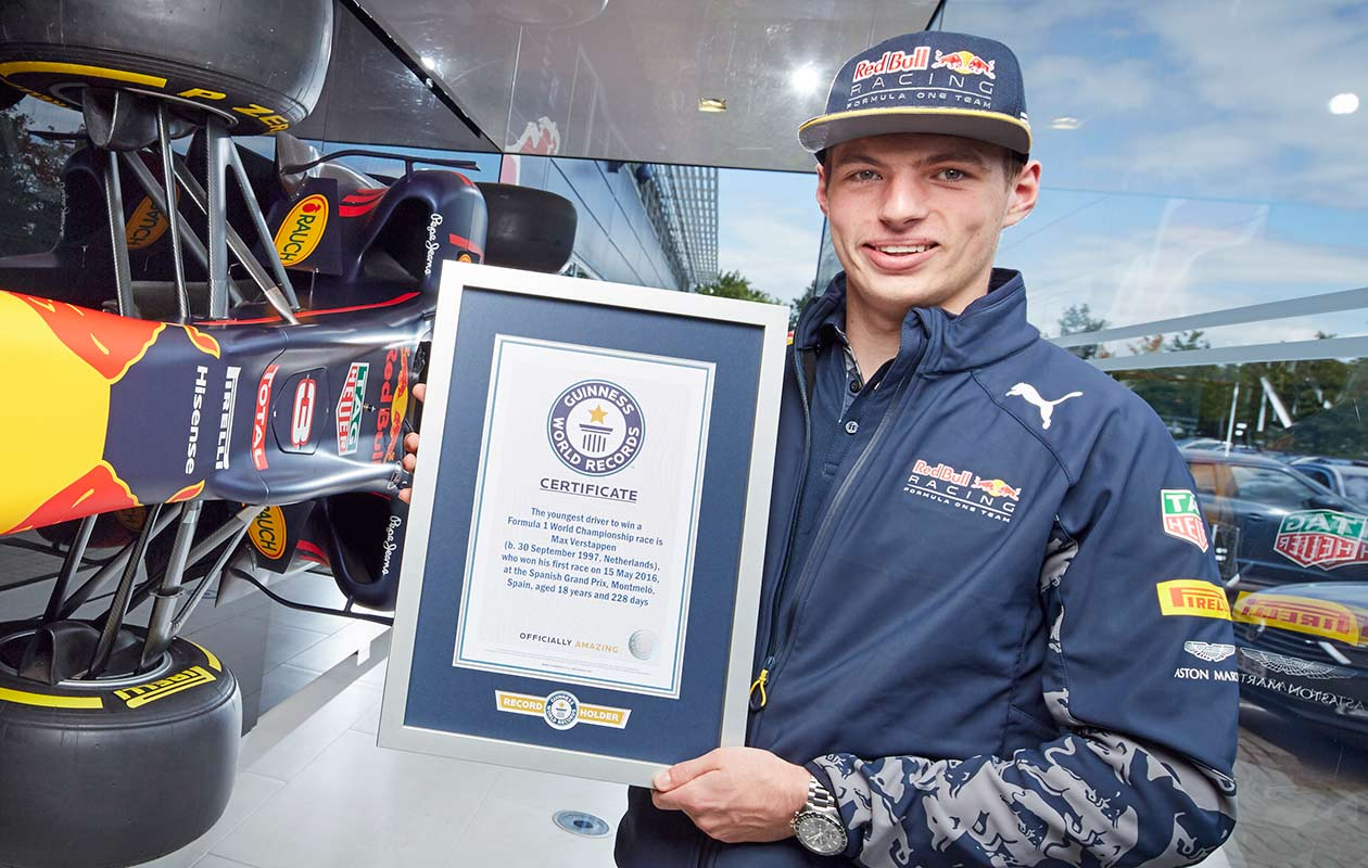 Max Verstappen: How I became the world's youngest driver to win an Formula One race - Video