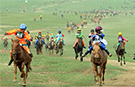 Double world record joy for Mongolian horse riders