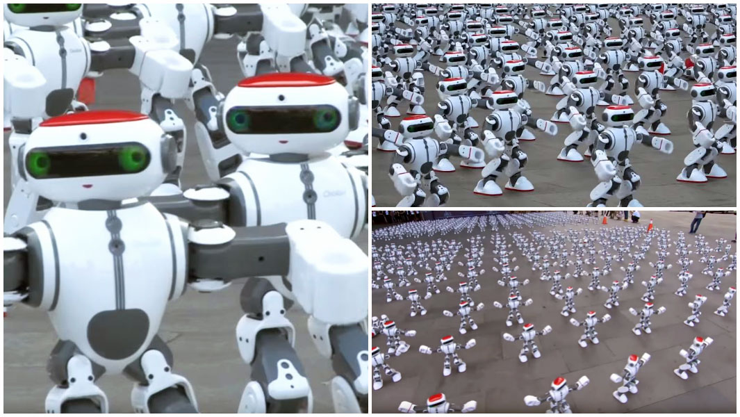 Massive robot dance sets a Guinness world record