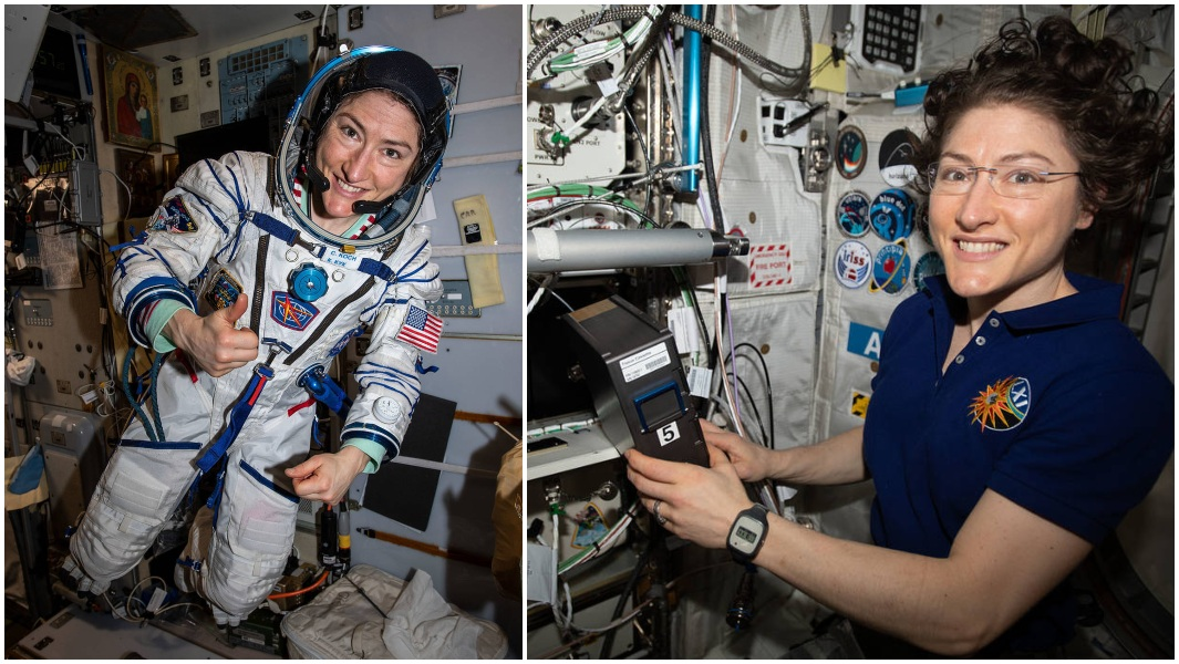Christina Koch, the first woman to complete the longest spaceflight