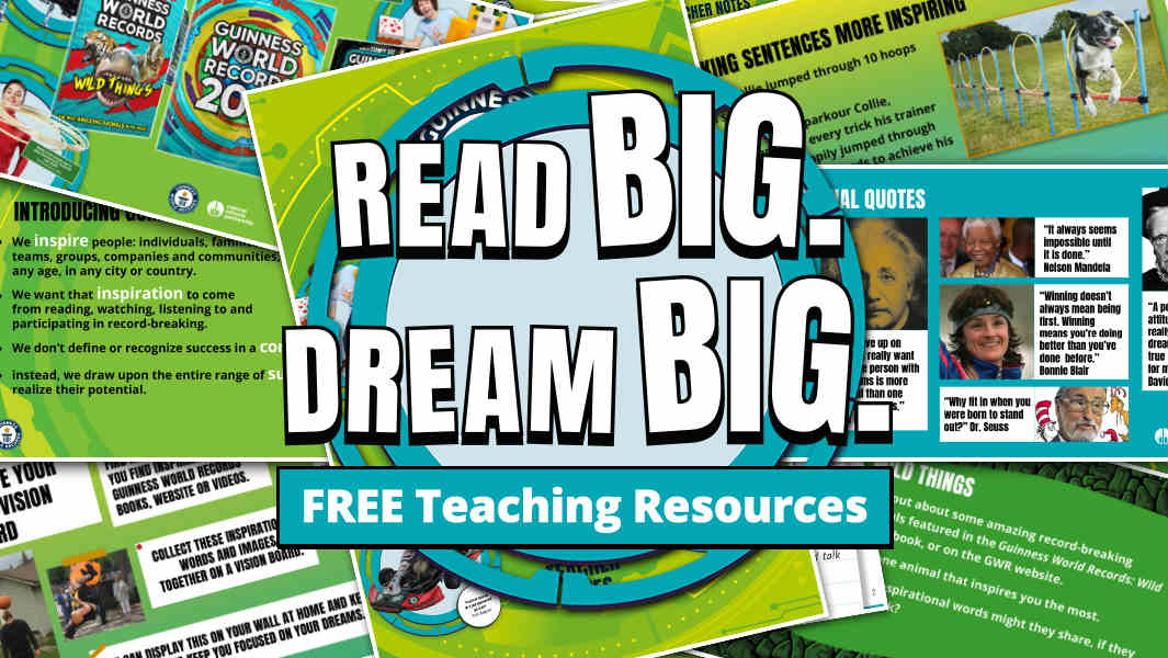 Win a tablet and Guinness World Records books for your classroom