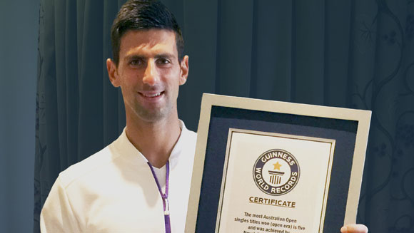 Novak Djokovic, Dan Carter and Lewis Hamilton all score big in Guinness World Records 2016 Edition