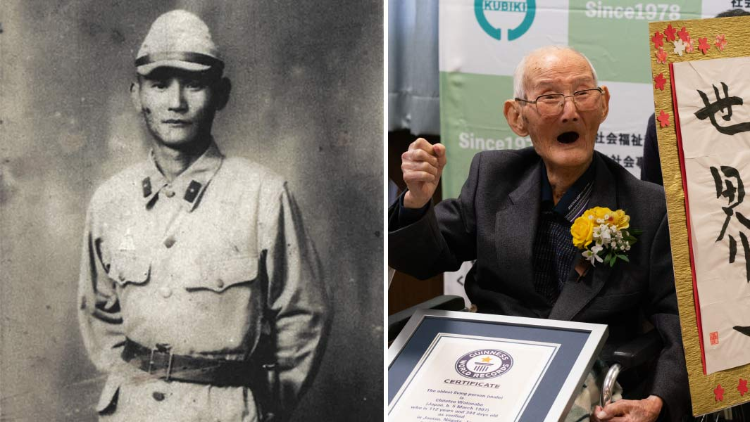 112-year-old Japanese recognized as world's oldest living man by Guinness