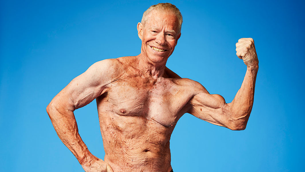 84 year old body builder lifts his way into the new Guinness World Records 2018 book