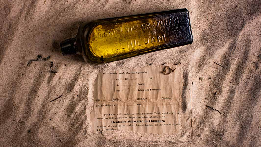 World's oldest message in a bottle confirmed - 132 years after being thrown overboard