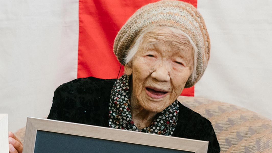 116-yr-old Japanese woman recognized as world's oldest person