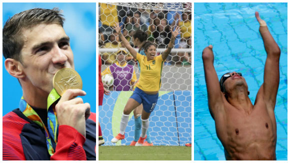Relive Rio 2016: Catch up on the record-breaking achievements from the Olympics and Paralympics