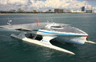 Largest solar-powered boat completes around-the-world voyage