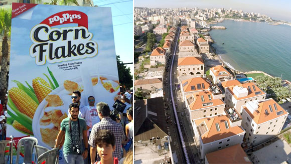 Cereal brand breaks two world records as thousands attend group breakfast in Lebanon
