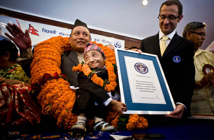 World's shortest man Khagendra Thapa Magar dies aged 27 in Nepal hospital