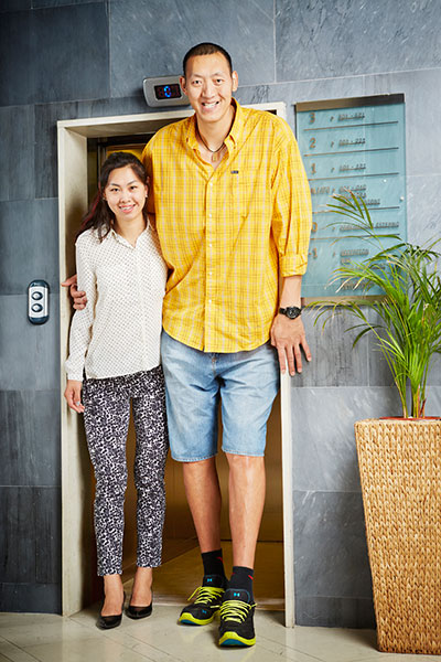 Tallest married couple
