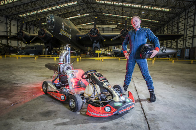 Tom Bagnall - Fastest Jet Powered Go Kart-3