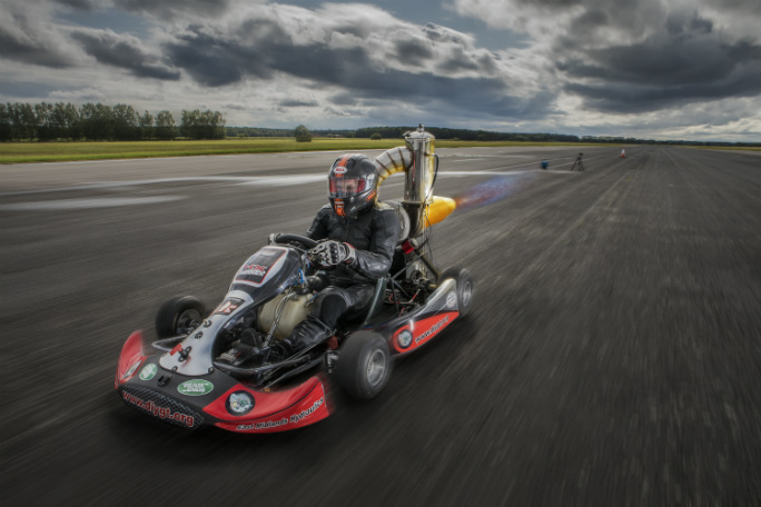 Tom Bagnall - Fastest Jet Powered Go Kart2