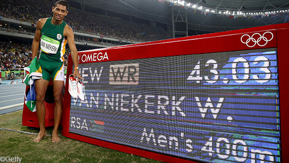 "Rio 2016 round-up: Wayde van Niekerk breaks Michael Johnson's 400m record, while ""Ultimate Olympian"" Michael Phelps retires"