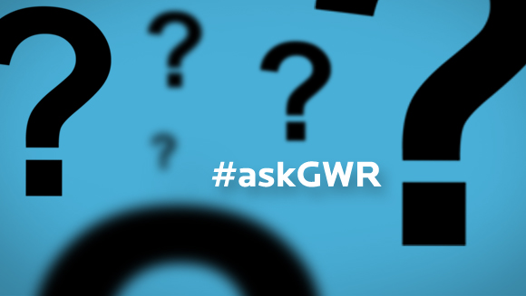 #askGWR - a new feature launches!